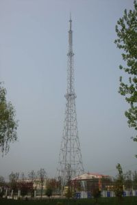 China TV&Broadcast Tower with Angle Steel (galvanized) pictures & photos
