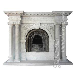 Indoor Marble Stone Mantel (FC-226)