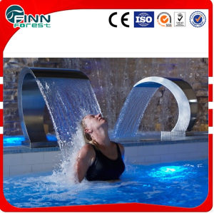 Hot Sale Stainless Steel 304 Massage Waterfall in European Style pictures & photos