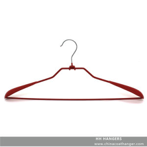 Plastic Coated Metal Top Clothes Hangers Ok for Heavy Clothes pictures & photos