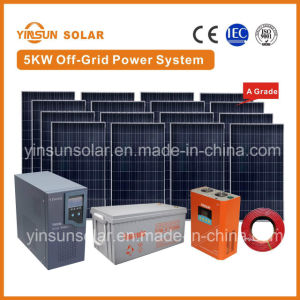 5000W off Grid Solar System for Solar Panel System pictures & photos