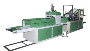 4line 2 Layer Automatic Cold Cutting T Shirt Bag Making Machine pictures & photos