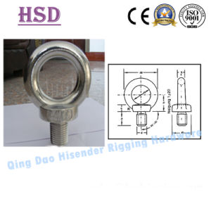 Zinc Plated DIN580 Eye Screw Bolt for Rigging Lifting pictures & photos