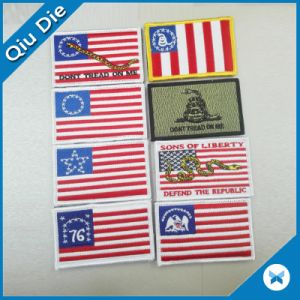 Custom Badge Accessories Patches with Flags pictures & photos
