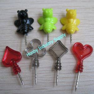2013 New Design Decorative Colored Shape Push Pin