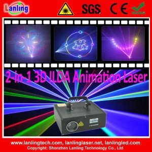 2-in-1 3D Ilda Animation Laser Disco Light pictures & photos