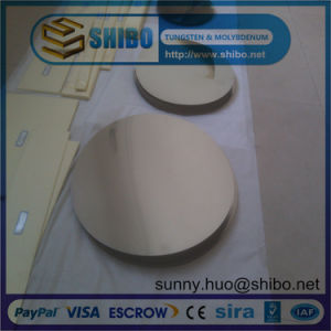 Pure Molybdenum Round Circle and Disc for Vacuum Coating pictures & photos