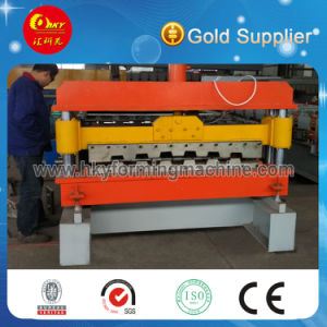 Decking Floor Cold Roll Forming Machine for Building Construction pictures & photos