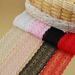 Spandex/Nylon Jacquard Elastic Lace for Underwear/Bra pictures & photos