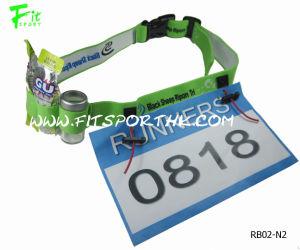 Customer Adjustable Triathlon Belt with 3 Gel Holders (Style-RB02-N2)
