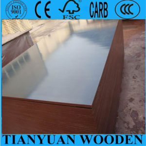 Brown Film Faced Plywood for Construction Concrete Formwork Plywood Waterproof Price pictures & photos