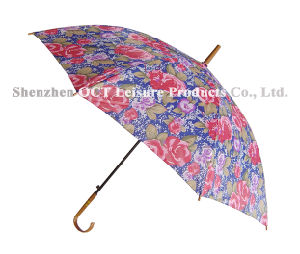 Straight Umbrella with Assorted Color pictures & photos