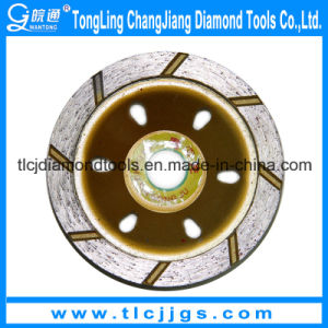 Single Stone Diamond Cup Abrasive Grinding Wheel pictures & photos