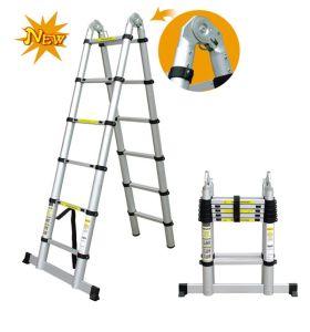Fantastic Aluminum Telescopische Ladder 5m for Loft pictures & photos