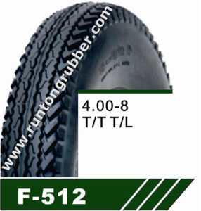 High Way Use Tricycle Tyre, Three Wheeler Tires Tires, 4.00-8 4.50-10 pictures & photos