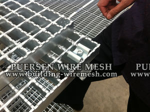 Tb 6*6 Welded Steel Bar Grating pictures & photos