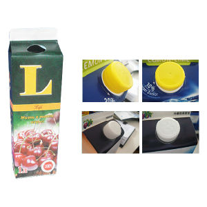 1L 6 Layer Gable Top Box for Juice pictures & photos