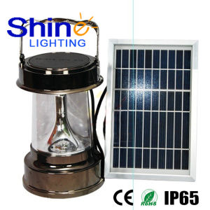 Energy-Saving Rechargeable LED Solar Camping Lantern pictures & photos