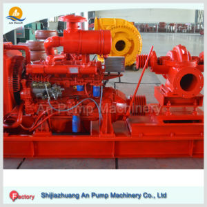 Large Volume High Efficiency Double Suction Diesel Water Pump pictures & photos