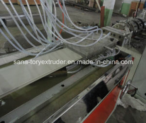 PVC Ceiling Panel Making Machine/Profile Extrusion Line pictures & photos