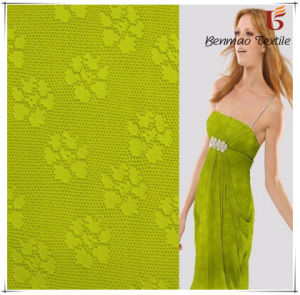 Polyester Spandex Jacquard Interlock Fabric/Interlock Fabric for Garment