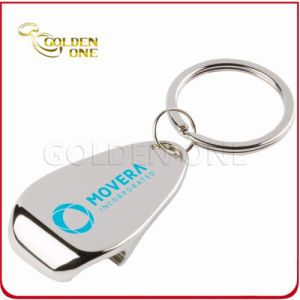 Personalised Printed Nickel Plated Metal Bottle Opener Key Ring pictures & photos