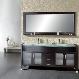China Quality Solid Wood Bathroom Vanity Modern Bathroom Vanities ML 8105