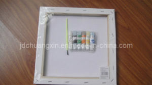 White Cloth Oil Painting Frame (cxhk-0002)