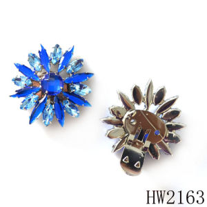 Metal and Rhinestone Moveable Clips for Fashion Shoes