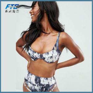 Fashion Cheaper Printed Bikini Swimsuit pictures & photos
