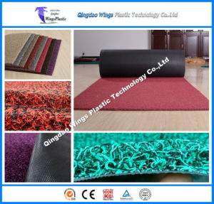 PVC Coil Door Mat Vinyl Loop Mat Carpet Game Carpet pictures & photos