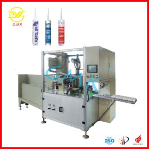 Zdg-300 Automatic Cartridge PU Sealants Bottle Filler RTV Silicon Sealant Filling Machine pictures & photos