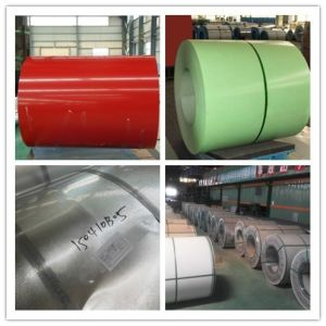 Flower Prepainted Galvanized Steel Coil for Building Material Cold Rolled Steel Pipe pictures & photos