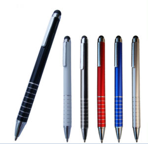 Promotional Pen Business Gift Pen Metal Ballpen with Stylus pictures & photos