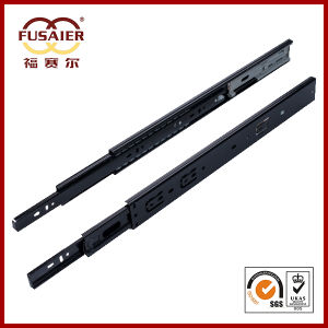 High Quality 45mm Black Soft-Closing Telescopic Channel pictures & photos