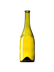 Burgundy Wine Glass Bottle