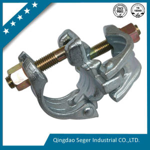 Scaffold Parts Double Coupler with Ribbing pictures & photos