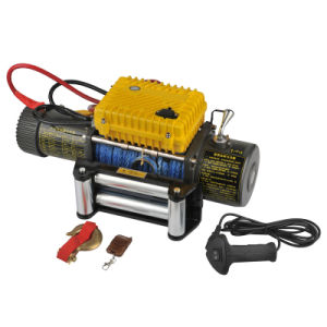 Truck Winch 12000lb Electric Winch with High Torque Force Motor