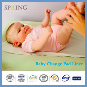 Top Selling Anti Slip Design New Bamboo Change Pad Liner pictures & photos