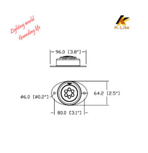 LED Clearance Light for Truck, Track Parts LED High Bay Light Bulb Lb903 pictures & photos