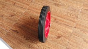 Wheelbarrow Solid Rubber Wheel 13X3 pictures & photos