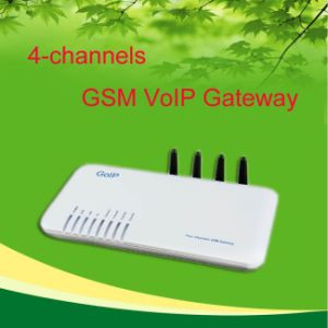 4 GoIP, 4 Channel GSM VoIP Gateway, Support IMEI Change