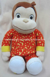 Pretty Plush Stuffed Monkey Toy