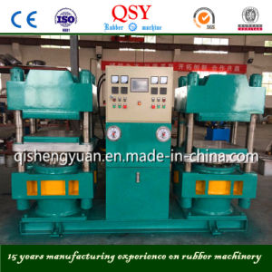 Twin Vulcanizer Rubber Press & Plate Curing Press Machine 250tons pictures & photos