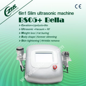 BS05 Effective 40k Cavitation RF 6 in 1 Body Slimming Machine pictures & photos