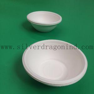 Biodegradable Paper Disposable Bowl Sugarcane Pulp Material pictures & photos