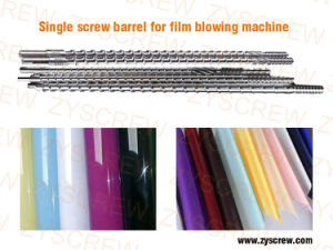 Single Screw Barrel for Film Blowing Extruder PVC Pipe pictures & photos