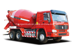 Sinotruk HOWO Brand 8m3 Concrete Mixer Truck pictures & photos