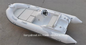 Liya 7people 14feet Inflatable Drifting Boat Rib Speed Boat with Engine pictures & photos