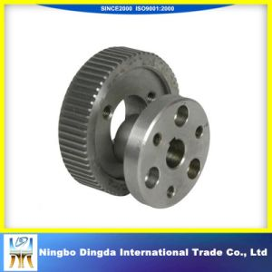 Aluminum Synchronous Flat Belt Pulley pictures & photos